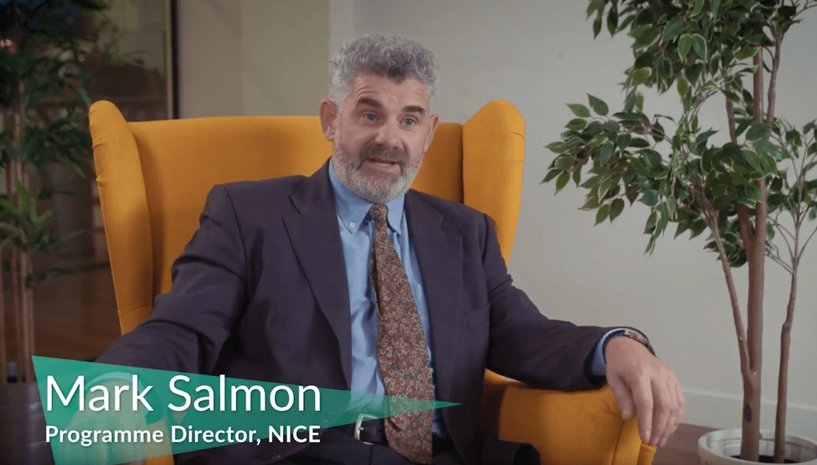 Mark Salmon, Programme Director at NICE